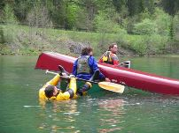 Rescue Safety für Kanadier und Packraft